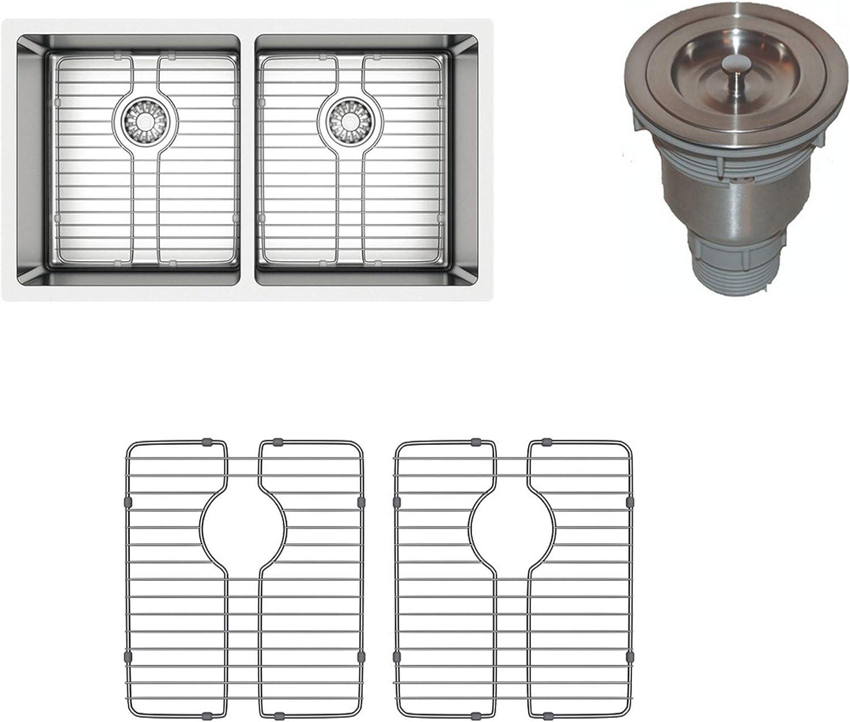 TroiaUS Undermount Kitchen Stainless Steel Sink - 18