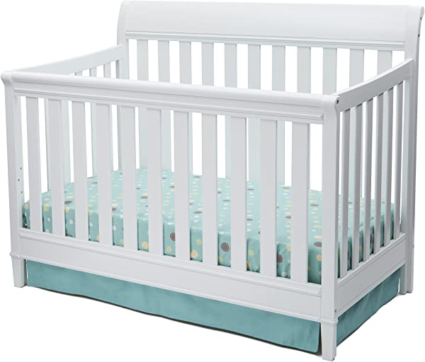 Delta Children Haven 4 In 1 Convertible Crib White