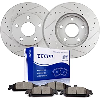 Pads for 1999-2005 Pontiac GRAND AM Front Brake Rotors