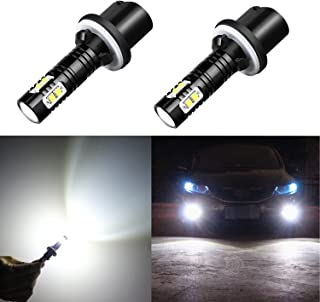 Alla Lighting CREE 50W 880 899 High Power LED Fog Lights Bulbs Lamps Replacement 893 886 890 892