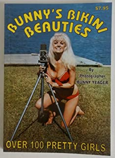 Bunny's Bikini Beauties Book by Pin-Up Photographer Bunny Yeager 1960s - 1970s Beach Shots Bettie Page, Maria Stinger, Diane Webber & More!