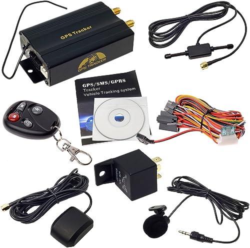 Veicolo Auto Localizzatore GPS tracker TK103B con controllo remoto SMS google mappa collegamento VG2