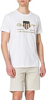 GANT Men's D2. Archive Shield SS T-Shirt
