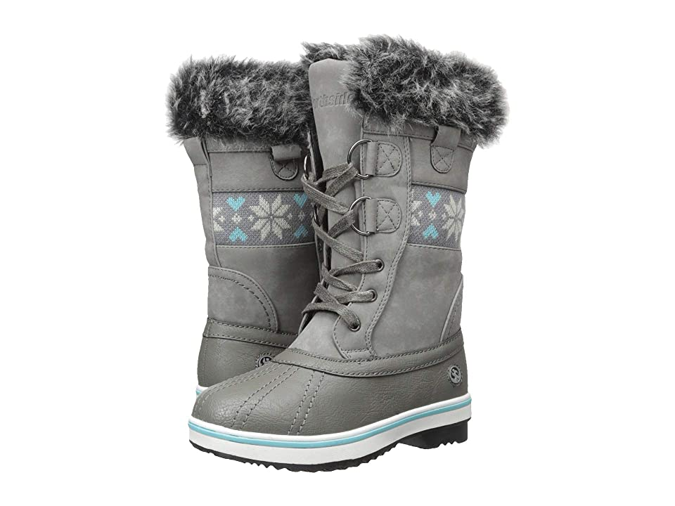 Northside Kids Bishop Jr (Little Kid/Big Kid) (Gray/Blue) Girls Shoes