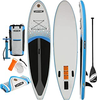 Lifetime Tidal 110 Inflatable Stand Up Paddle Board (Paddle Included), 11', White