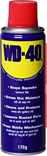 Pidilite WD-40, Multipurpose Spray, Rust Remover, Squeak Noise Remover and Lubricant, Stain Remover, and Cleaning Agent, 170g