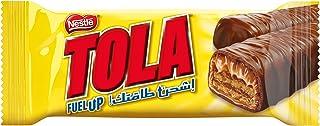 Nestle Tola Milk Chocolate and Caramel Wafer, 31g Bar
