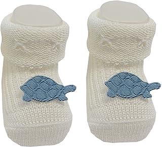 Bianchi Sockmaker in Italy since 1932 - Calzine baby primi giorni con tartaruga, neonato