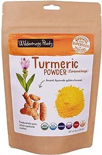 Wilderness Poets Organic Turmeric Powder (8 Ounce)