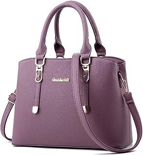 ACLULION Handbags for Women Large Shoulder Tote Purse Top Handle Satchel PU Leather Pocketbooks