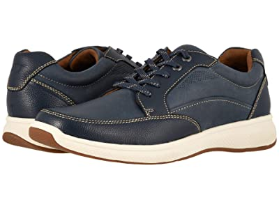 Florsheim Great Lakes Moc Toe Walk (Indigo Smooth w/ Milled) Men