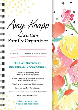 2020 Amy Knapp's Christian Family Organizer: August 2019-December 2020