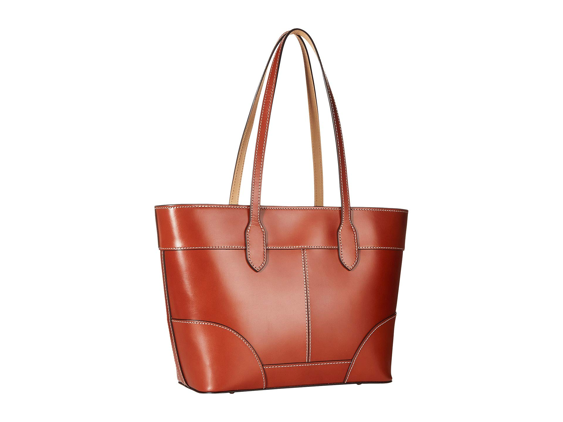 Tote amp; tan Selleria Dooney Bourke Tan Trim qg4P8t