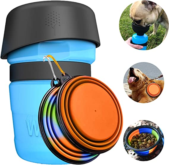 Dog Water Bottle Bowl