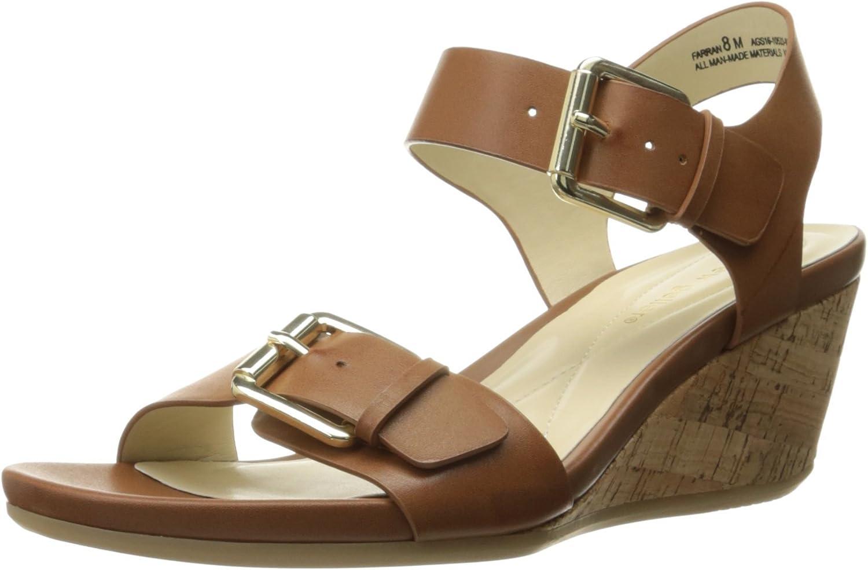 Andrew Geller Womens Farran Wedge Sandal