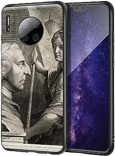 James Barry Huawei Mate 30 用ケース/ファインアート携帯電話ケース/高解像度ジクレーレベルUV複製プリント、携帯電話カバー(ウィリアムピットアールオブチャタム)