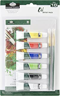 Royal Brush Essentials Artist Pack-Oil Painting, Other, Multicoloured, 3.27 x 19.78 x 30.57 cm
