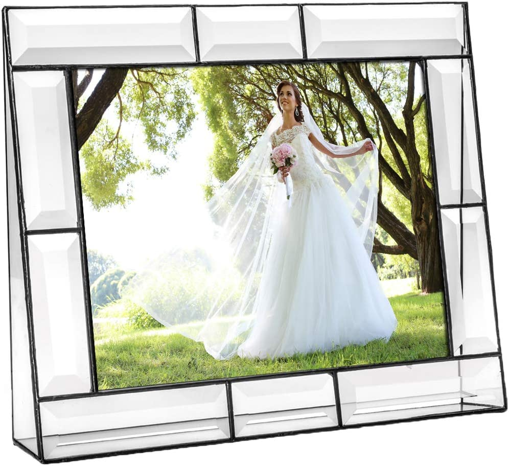 Clear Glass Picture Frame Louisville-Jefferson County Mall 8x10 Desk Accessories Ta Display Photo Sales