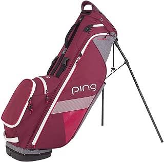 Ping Women's Hoofer Lite Stand Bag Garnet/Heathered Gray