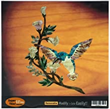 Inlay Sticker Decal For Guitar Bass In Abalone Theme - Humming Bird DX