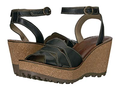 FLY LONDON GALM416FLY (Black Mousse) Women