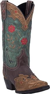 teal fringe cowboy boots