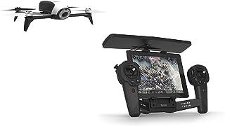 Parrot PF726103AA - Bebop Drone 2, con SkyController, color Negro, Blanco