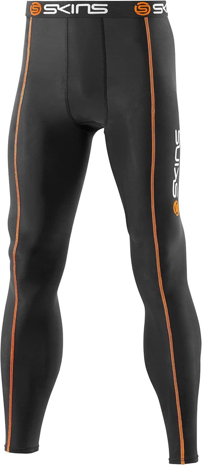 Skins Snow Compression Long Tights [Black]
