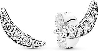 Pandora Womens 925 Sterling Silver Fashion Earring - 297569CZ, Color Silver