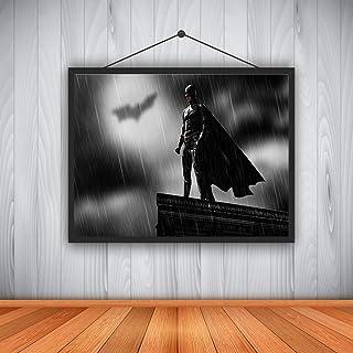 GWFVA HD Impression sur Toile Décoration de La Maison Salon Chambre Mur Photo Art Super-Héros Batman Film 30X40CM = 12X16inch
