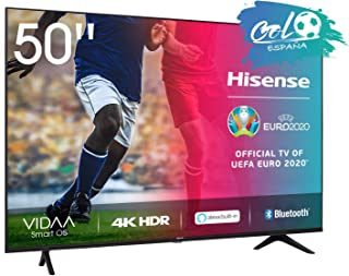 Hisense UHD TV 2020 50AE7000F - Smart TV Resolución 4K con Alexa integrada, Precision Colour, escalado UHD con IA, Ultra D...