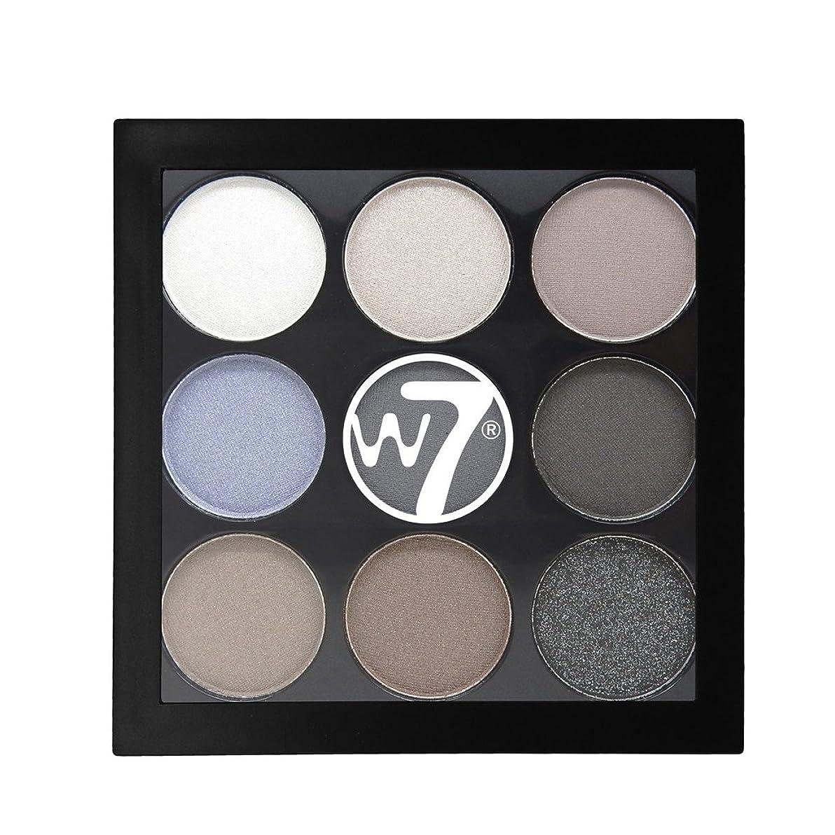 刺激するリマーク故障中W7 The Naughty Nine Eyeshadow Collection - Hard Day's Night (並行輸入品)