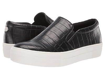 Steve Madden Gills Sneaker (Black Croco) Women