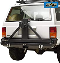 EAG Steel Rear Bumper with Tire Carrier
