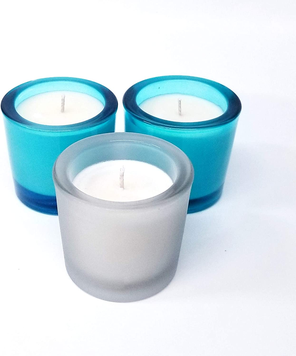 Mini SOYA Candles in Heavy Glass Holders Sc Pack Votive San Diego Mall Triple Tucson Mall