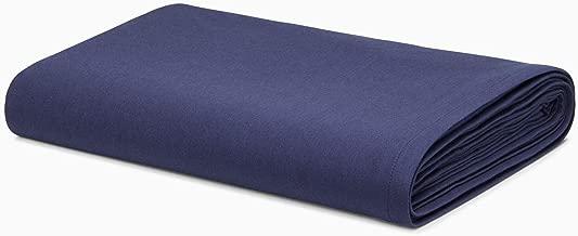 Calvin Klein Modern Cotton Harrison Sheet, Full, Navy