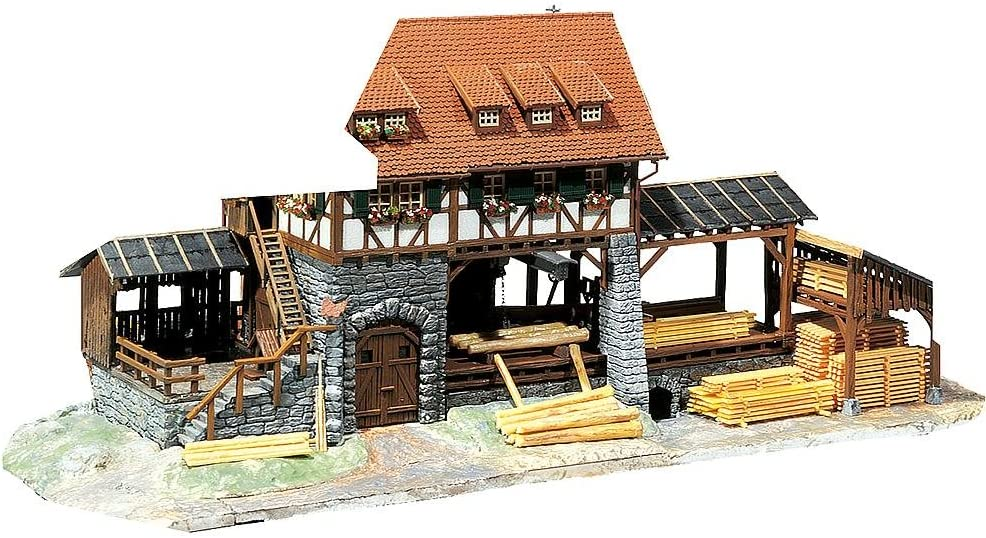 Faller 130229 Operating Sawmill Kit HO Scale Max 57% OFF Building Over item handling