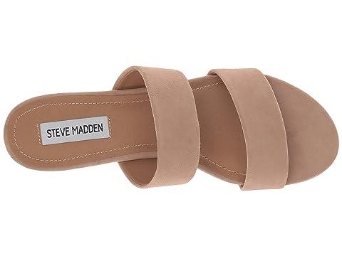 Madden Tan Slide Steve Suede Sandal Cactus 7qggF4