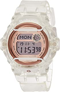 Casio Baby-G Women's Pink Dial Resin Band Watch