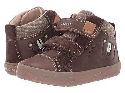 Geox Kids Geox x WWF Kilwi 34 (Toddler) (Coffee) Boys Shoes