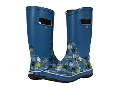 Bogs Kids Rain Boots Moons (Toddler/Little Kid/Big Kid) (Blue Multi) Boy