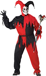 California Costumes Women's Plus-Size Evil Jester Costume