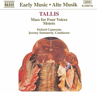 Tallis: Mass For Four Voices / Motets
