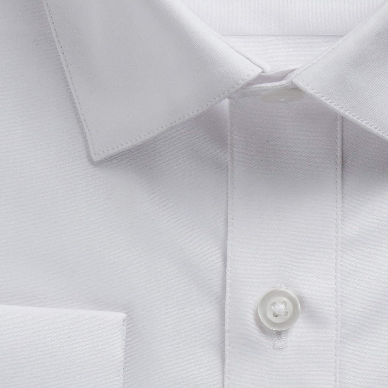 Gentlemens Collection Men's Regular & Slim Fit Long Sleeve Solid Dress Shirt
