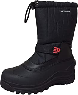 Climate X Mens Ysc5 Snow Boot,Black,11