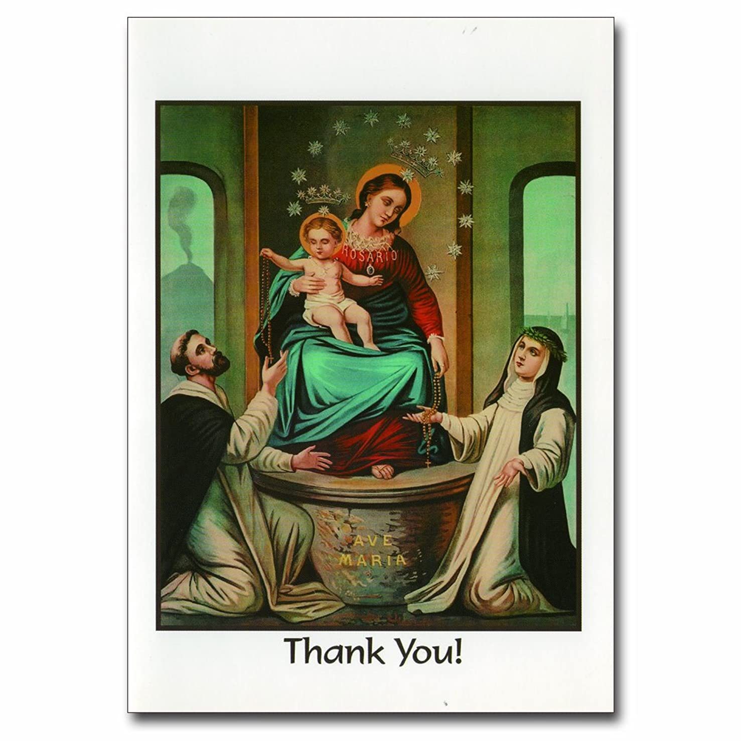 Holy note card (Large Hard)- Thank you!