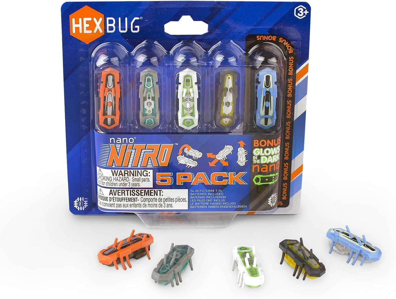 HEXBUG nano Nitro 5 Pack Ranking Elegant TOP20 - Sensory Vibration for and Toys Kids C