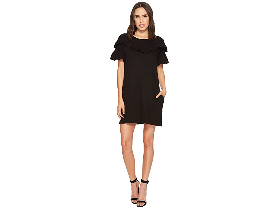 Paige Adalie Dress (Black) Women