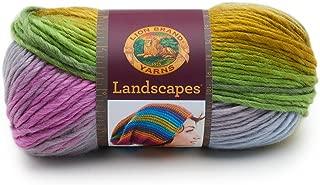 Lion Brand Yarn 545-209 Landscapes Yarn, Wild Flowers