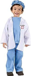 زي الطبيب للأطفال الصغار من فن وورلد كوستيومز
